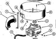 140-125 GASKET - Item #11 in illustration