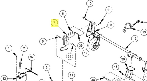 39449 } Kit, PGR Cord Retrofit, w/PG2 Actuator