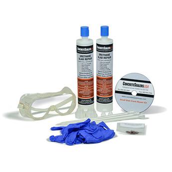 Urethane Slab Crack Repair Kit Small Concrete Sealers Usa