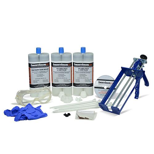 Urethane Slab Crack Repair Kit W/ UV Stabilization (Large