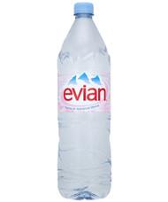 Evian still water