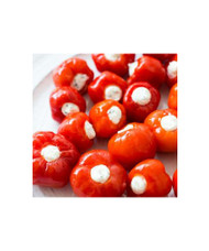 Red Bell Peppers With Cheese