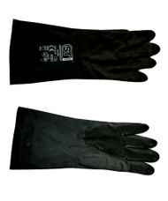 Medium Heavy Duty Black gloves 12 Pairs
