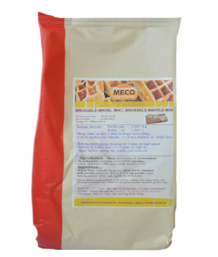 Brussels Waffle Mix 10 x 1 kg