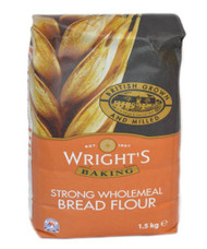 Wrights Strong Wholemeal Flour Organic 1.5kg