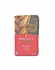 Wright's Plain Flour  1.5 kg