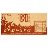 Tate & Lyle Demerara Sugar Sticks x1000
