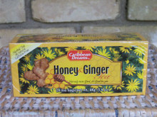 Honey & Ginger Tea from Caribbean Dreams - great for soothing colds and aches!