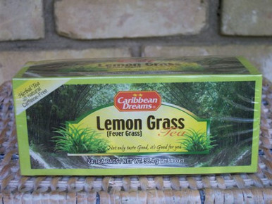 Lemon Grass Tea from Caribbean Dreams - health giving!