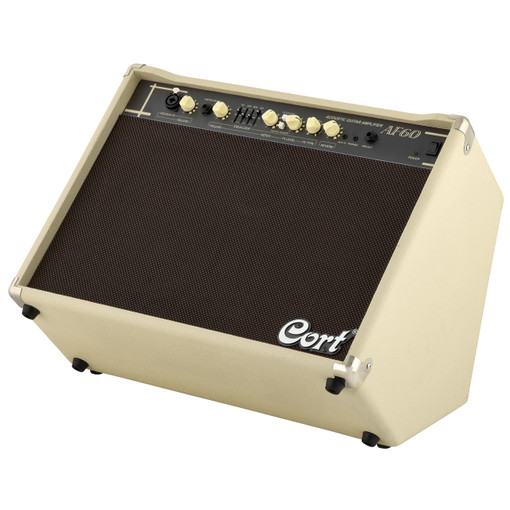 cort af60 60watt acoustic guitar amplifier with mic input wildwire guitars. Black Bedroom Furniture Sets. Home Design Ideas