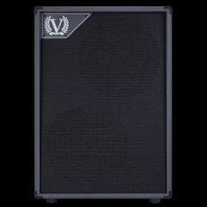 Victory V212VG 2x12 Closed Back Cabinet with 2x Celestion Vintage 30 in Grey for VX Kraken