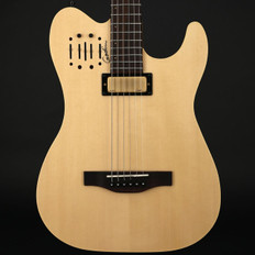 Godin Acousticaster DLX RN in Natural with Gigbag