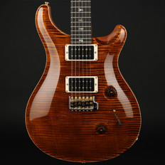 PRS Wood Library Custom 24 in Black Gold with Pattern Thin Neck, 85/15 Pickups #225826