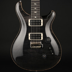 PRS Custom 24 10 Top in Grey Black with Pattern Regular Neck, 85/15 Pickups #224557