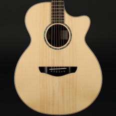 Faith Venus Cutaway High Gloss Electro Acoustic in Natural with Hard Case