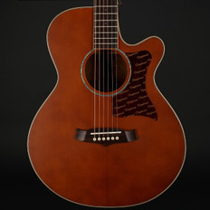 Tanglewood Sundance Performance Pro X45-NSE All Solid Superfolk Cutaway Electro Acoustic in Vintage Amber Satin