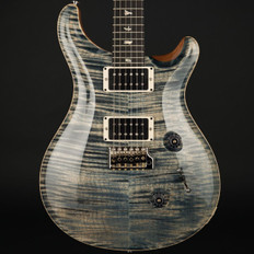 PRS Custom 24 10 Top Ltd in Faded Whale Blue with Pattern Thin Neck, 85/15 Pickups #237449