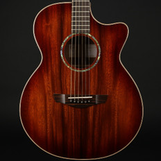 Faith Trembesi Venus New-Spec Cutaway Electro Acoustic in Blood Moon Burst with Case
