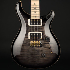 PRS Custom 24 10 Top in Charcoal Burst with Flame Maple Neck, 85/15 Pickups #242427