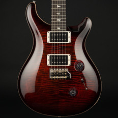 PRS Custom 24 10 Top in Fire Red with Pattern Thin Neck, 85/15 Pickups #237027
