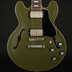 Gibson Memphis 2018 ES-339 in Olive Drab Green #12767700