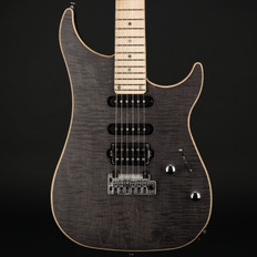 Vigier Excalibur Ultra Blues HSS in Black Diamond Matte with Case #160104