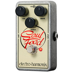 Electro Harmonix Soul Food Transparent Overdrive Pedal