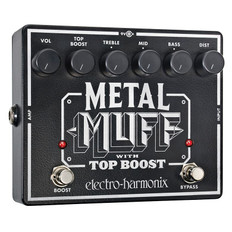 Electro Harmonix Metal Muff Distortion With Top Boost Pedal