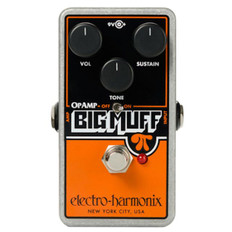 Electro Harmonix OP Amp Big Muff Distortion/Sustainer Pedal