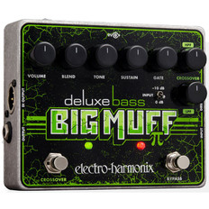 Electro Harmonix Deluxe Bass Big Muff Pi Distortion/Sustainer Pedal