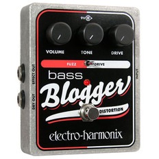 Electro Harmonix Bass Blogger Distortion Overdrive Pedal