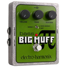 Electro Harmonix Bass Big Muff Pi Distortion/Sustainer Pedal