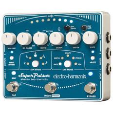 Electro Harmonix Super Pulsar Stereo Tap Tremolo Pedal