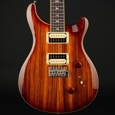 PRS SE Custom 24 Exotic Top in Zebrawood/Vintage Sunburst #S01770