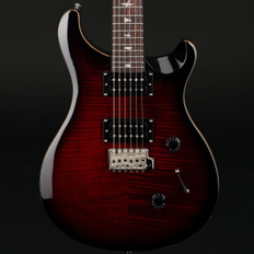 PRS SE Custom 24 in Fire Red Burst with Gig Bag