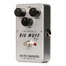 Electro Harmonix Triangle Big Muff Distortion/Sustainer Pedal