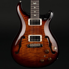 PRS HollowBody II Piezo in Black Gold Burst with 58/15 Pickups #255963