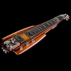 Duesenberg Fairytale Lapsteel in Goldburst with Hard Case