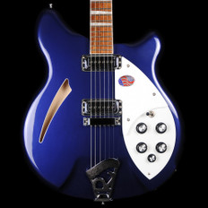 Rickenbacker 360/6 - 360 Series 6 String in Midnight Blue with Hard Case