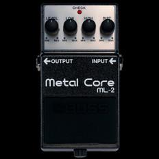 Boss ML-2 Metal Core Guitar Effects Pedal