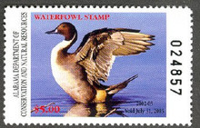 Alabama Duck Stamp 2002 Pintail