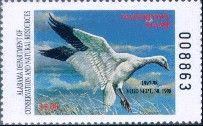 Alabama Duck Stamp 1997 Snow Goose