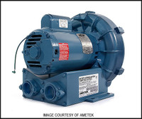 M2018 ROTRON COMMERCIAL AIR BLOWER 1 HP (DR404AQ58M)**SEE NOTES**