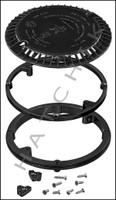 """N1631 AQUASTAR 8"""" RETRO AV COVER BLACK RLP8AV102 (VGB SERIES)"""