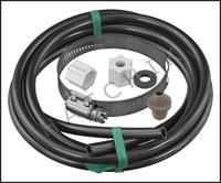 C1156 HAYWARD CLX220GA SADDLE FTG, NUT,GASKET,CLAMP & 4' TUBING