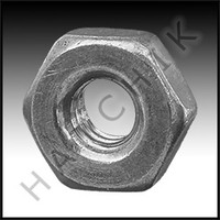 O4019 PAC FAB HATTERAS #619312  8-32 NUT FOR HATTERAS SPA FACE RING