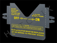O4184 INTERMATIC INSULATOR FOR OLD T100 SERIES TIME SWITCHES