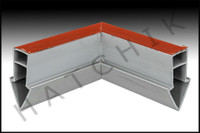 T1757 QUAKER EXPANSION JOINT 90 GREY JOINT  COLOR: GRAY
