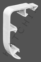 T1771 QUAKER QP-2881 STEG NOSE CAP WHITE REGULAR FORM-WHITE (100/CASE)