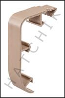 T1773 QUAKER QP-1301T NOSE CAP TAN NOSE CAP - TAN  (100/CASE)